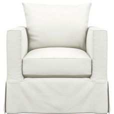 Slipcover Only for Willow Chair in Sleeper Sofas | Crate and Barrel