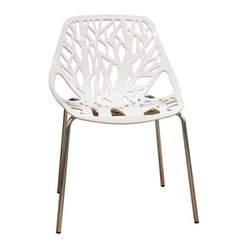 Forest Plastic Modern Dining Chair