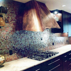 Contemporary Range Hoods And Vents by U.S. Sheet Metal Company, Inc.