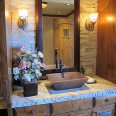 Traditional Vanity Tops And Side Splashes by Northwest Tile & Floors