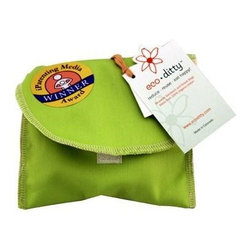 Eco Ditty Snack Bag - Spring Green - eco ditty is the award winning snack bag! The perfect size for snacking. Compact and easily adjustable to handle all varieties of snacks.
