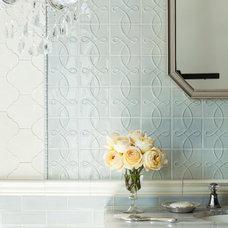 Traditional  by Portico Fine Tile & Design