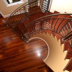 Orinda Residence - Cumaru floors with low VOC finish
