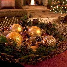 Contemporary Christmas Ornaments by Natural Domain Interiors, llc