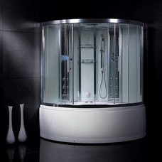 Modern Steam Showers by Exotic Home Expo