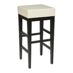 "OSP Designs - Metro Square 30"" Bar Stool - Lodge 30"" Backless Bar Stool Features:  -Customize the Lodge bar stool to suit your needs. -Constructed for residential use. -Some assembly required. -Seat height: 30"". These are the most durable stools in the industry. TEMPO INDUSTRIES, INC. warrants its iron metal product construction to be free from defects in workmanship and materials for the life of the product. Fabric coverings and moving parts are not covered by this warranty."
