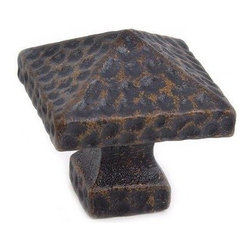 Brass Knobs - Traditional Arts and Crafts Brass Square Knob styling in original finishes sets this premium line of authentic Mission hardware apart from the rest.