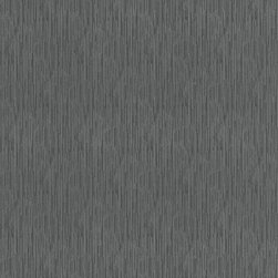 Graham and Brown - Steve Leung Yuan Wallpaper Swatch - Charcoal - The Yuan wallpaper is semi plain wallpaper but features flecks of metallic to add a real feel of decadence. Use Yuan either alone or to complement one of Steve Leung's other designs.