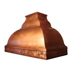 Copper Range Hood | Belle | Vogler - Custom Copper Belle Range Hood by