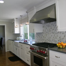 Traditional Kitchen by May Construction, Inc.