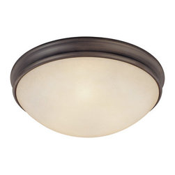 Capital Lighting - Capital Lighting 2044 3 Light Flushmount Ceiling Fixture - Capital Lighting 2044 3 Light Flushmount Ceiling FixtureSleekly and contemporarily designed, this three light flush-mounted ceiling fixture looks good and provides plenty of down light for a room.Features: