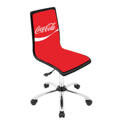 Coca-Cola Printed Office Chair -