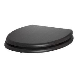 IKEA of Sweden - FREDEN Toilet seat - Toilet seat, black-brown