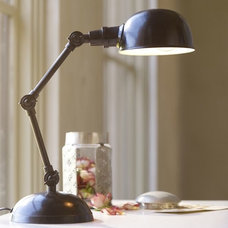 Industrial Table Lamps by Pottery Barn