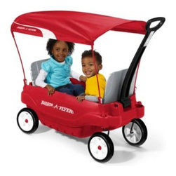 Radio Flyer - Radio Flyer Ultimate Family Wagon - This surely is the ultimate wagon, featuring a 5-way flip and fold seat and child seat belts.