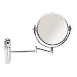 Taymor Industries USA - Taymor Wall Mount Swing Arm Rotating Mirror - 02-D85917 - Shop for Bathroom Mirrors from Hayneedle.com! About Taymor Industries Inc Established in 1948 to create quality products unbeatable value and premier customer service Taymor Industries Inc. continues their tradition today under a team of industry professionals who are dedicated to bringing the best designs and quality in bath accessories and residential/commercial security hardware. With distribution centers in Arizona and Atlanta Taymor Industries can ensure a fast turnaround time for their customers and continue to be an industry leader based on their history and future objectives.