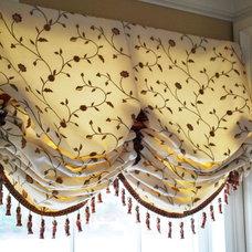Traditional Window Treatments by Lynn Chalk