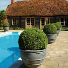 Traditional Outdoor Planters by ELEMENTS INTERNATIONAL