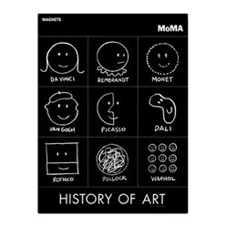 MoMA - MoMA History of Art Magnets - MoMA