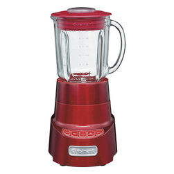 Cuisinart - Cuisinart SmartPower�� Deluxe 4-Speed Electronic Blender. Red - High-performance 600-watt motor with ice crush and pulse buttons