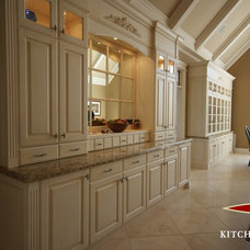 Traditional Kitchen Cabinetry by Kitchen Court