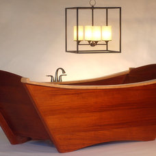 Eclectic Bathtubs by Bath in Wood of Maine llc