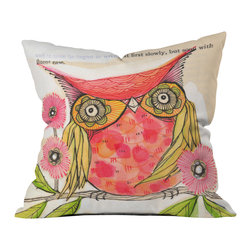 Cori Dantini Miss Goldie Outdoor Throw Pillow - Do you hear that noise? it's your outdoor area begging for a facelift and what better way to turn up the chic than with our outdoor throw pillow collection? Made from water and mildew proof woven polyester, our indoor/outdoor throw pillow is the perfect way to add some vibrance and character to your boring outdoor furniture while giving the rain a run for its money.