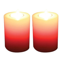 P3 INTERNATIONAL - P3 Q1048 Wicked Colors Candleholder 2 Pack - Kit includes: P3 Q1048 wicked colors candleholder 2 pack