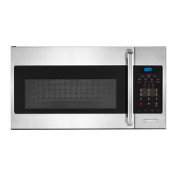 None - Electrolux Over-the-range Stainless Steel Microwave Oven - Easily heat up and prepare your food with this sleek stainless steel microwave from Electrolux. With functions like the three-speed fan and easy-to-read lighting,this oven is the perfect way to conveniently prepare your meals.