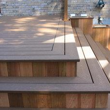 Deck by Patio Deck-Art