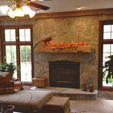 Contemporary Fireplace Accessories by Antique Beams & Boards