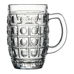 Hospitality Glass - Dimple Stein Mugs, Set of 12 - Dimple Stein