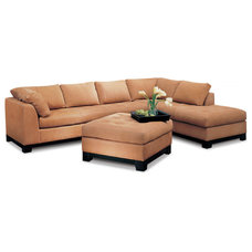 contemporary sectional sofas by eliteleather.com