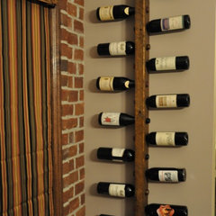wine racks by Vetrina Del Vino
