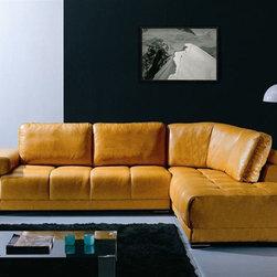 Advanced Adjustable Furniture Italian Leather Upholstery - Dimensions:
