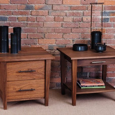 Contemporary Nightstands And Bedside Tables by McKinnon Furniture