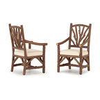 Rustic Arm Chair #1402 by La Lune Collection - Rustic Arm Chair #1402 by La Lune Collection