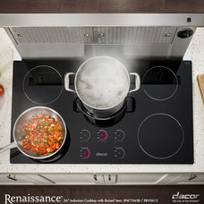 Modern Cooktops by Luxe Kitchens