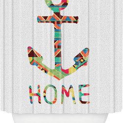 DENY Designs - DENY Designs Bianca Green You Make Me Home Shower Curtain -