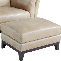 Hooker Furniture - Hooker Furniture Zorra Canela Ottoman - Developed by one of America's premier manufacturers to offer quality furniture at affordable prices. Each piece is meticulously hand-crafted using the most exquisite leathers in the world. The Zorra Canela OttomanCrafted using Zorra Canela (Light Mustard) leather.