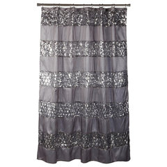 contemporary shower curtains by Amazon
