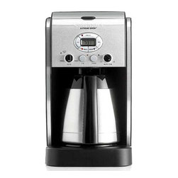 Cuisinart - Cuisinart DCC-2750 10-cup Extreme Brew Coffeemaker - Wake up to a wonderful aroma with this quality 10-cup coffee maker. The stainless steel coffee maker features extreme brew technology and 24-hour programming,so that you can have a delicious cup ready and waiting for you in the mornings.