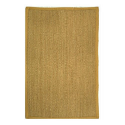 """Safavieh - Cearbhall Natural Fiber Rug, Natural / Beige 2'6"""" X 22' - Construction Method: Power Loomed. Country of Origin: China. Care Instructions: Vacuum Regularly To Prevent Dust And Crumbs From Settling Into The Roots Of The Fibers. Avoid Direct And Continuous Exposure To Sunlight. Use Rug Protectors Under The Legs Of Heavy Furniture To Avoid Flattening Piles. Do Not Pull Loose Ends; Clip Them With Scissors To Remove. Turn Carpet Occasionally To Equalize Wear. Remove Spills Immediately. Hand-woven with natural fibers, this casual area rug is innately soft and durable. This densely woven rug will add a warm accent and feel to any home. The natural latex backing adds durability and helps hold the rug in place."""