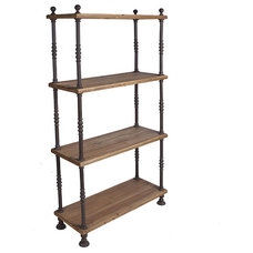 Traditional Display And Wall Shelves  by Wisteria