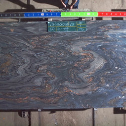 Royal Stone & Tile Slab Yard in Los Angeles - Earth Glitter Quartzite Granite Slabs at Royal Stone & Tile in Los Angeles, CA