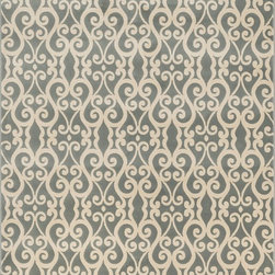"Loloi Rugs - Loloi Rugs Shelton Collection - Mist / Ivory, 5'-3"" x 7'-7"" - Power-loomed in Turkey of durable polypropylene, Shelton's vivid, graphic designs spotlight�dramatic zigzag chevrons, elegant ironwork and Moroccan tile motifs in a palette that is�pleasing for both him and her. Zen-like, earthy hues of rich black, brick, brown, ivory, misty�blue and camel set a surprisingly soothing tone that can help add style to your home and�order to your day.�"