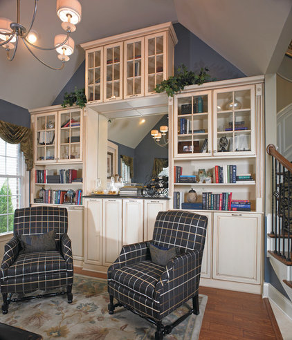 Traditional Family Room by Yorktowne Cabinetry