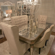 Contemporary Dining Room by JDS DESIGNS