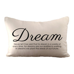 Sarah Smile - Dream Pillow, With Polyester Insert - Dream