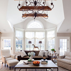 Traditional Family Room by BHSDesign